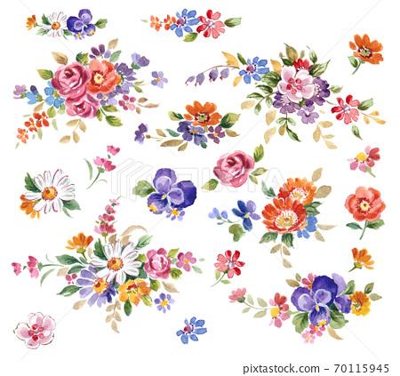 歐洲花卉 70115945