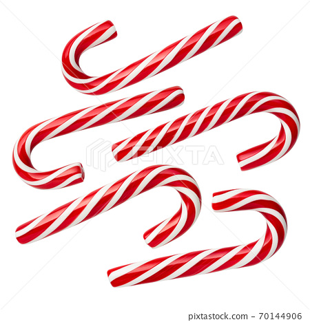 Peppermint Candy Cane - Christmas candies 70144906