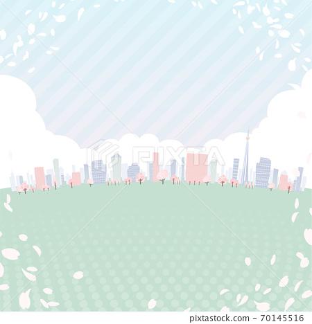 矢量 城市風光 城市景觀 70145516