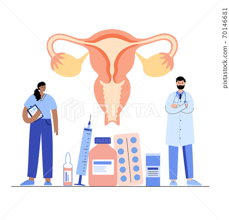 Gynecology clinic concept 70146681