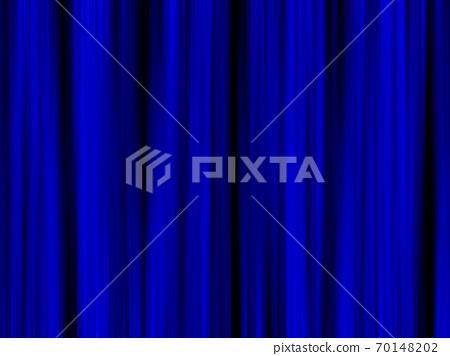 푸른 무대 커튼 단장의 이미지 70148202