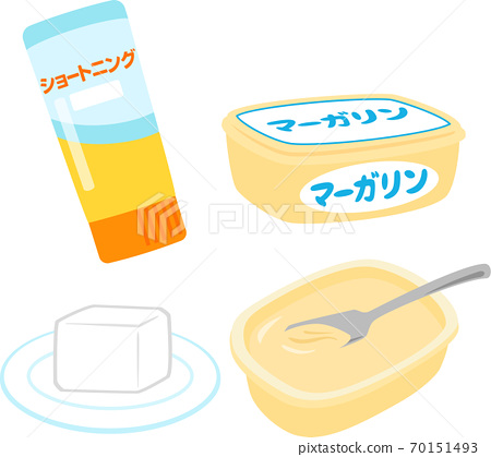 Commercial shortening and margarine 70151493