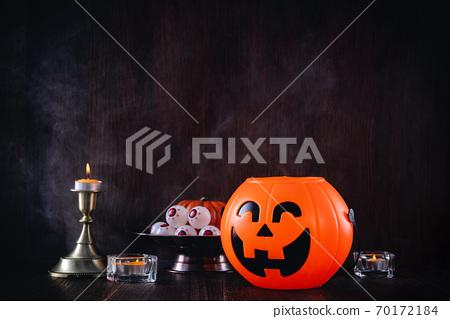 萬聖節 裝飾 裝飾品 南瓜 恐怖 概念 Halloween decor concept ハロウィンg 70172184
