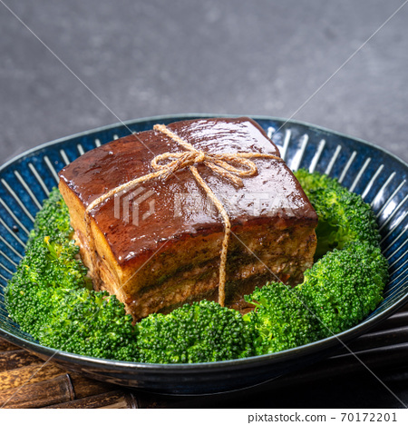 東坡肉 年菜 滷肉 控肉 魯肉 Dongpo Pork Braised Pork トンポーロー 70172201