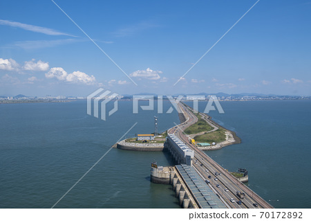 Sihwa海堤,安山市,京畿道 70172892