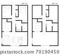 Floor plan of condominium / house 70190450