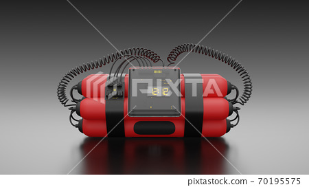 Bombs Red color. 70195575