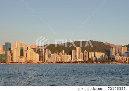 3 Aug 2007 Hong Kong Victoria Harbor , east of island 70196331