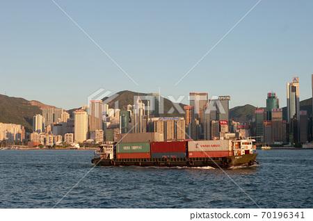 3 Aug 2007 Hong Kong Victoria Harbor , east of island 70196341