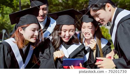 group happy graduate students 70201730