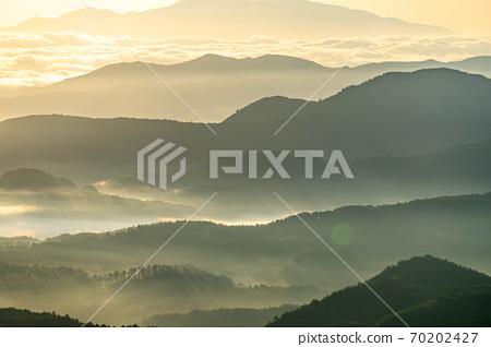 山上的金雲海和光[長野縣] 70202427