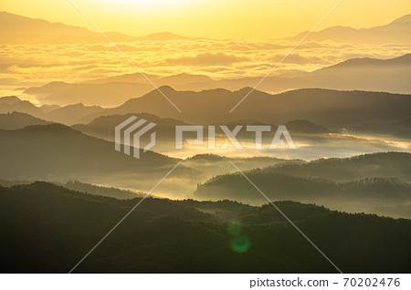 山上的金雲海和光[長野縣] 70202476