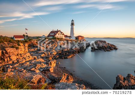 Portland, Maine, USA at Portland Head Light 70219278