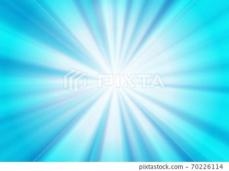 藍色的放射狀背景 70226114