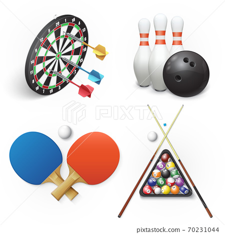 Darts, bowling, table tennis and pool billiards 70231044