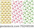 設置3種類型的牛和花板未對準模式 70248506