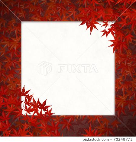 秋天的树叶蔓延的框架 70249773