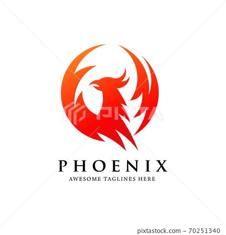 fire, logo, phoenix 70251340