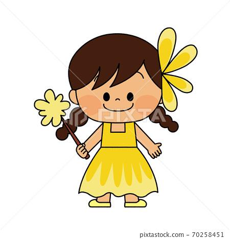 穿著萬聖節服裝的兒童 70258451