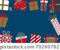 聖誕生日禮物框架 70260762