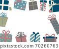 聖誕生日禮物框架 70260763