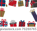 聖誕生日禮物框架 70260765