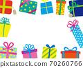 聖誕生日禮物框架 70260766