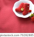 毛线袜和圣诞节玫瑰的圣诞节形象 70282885