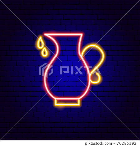 Oil Pitcher Neon Sign 70285392