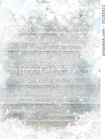 Background for holiday,  winter design. Grey wooden texture  background. Christmas background. 70288822