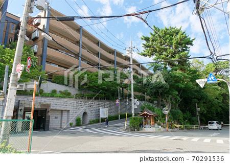 甲東園 역 주변의 거리 70291536
