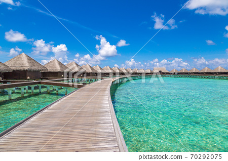 Water Villas (Bungalows) in the Maldives 70292075