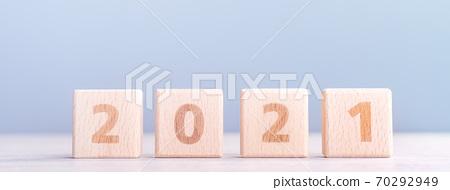 2020 新年 未來 目標 挑戰 木塊 future goal plan ハッピーニューイヤー 70292949