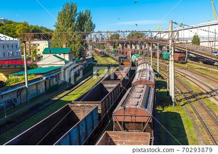 Railway carriage cargo terminal of  Odessa 70293879