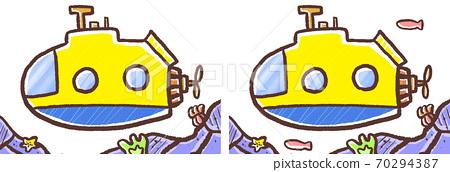 R : 더 동화 수족관 잠수함 세트 B 70294387