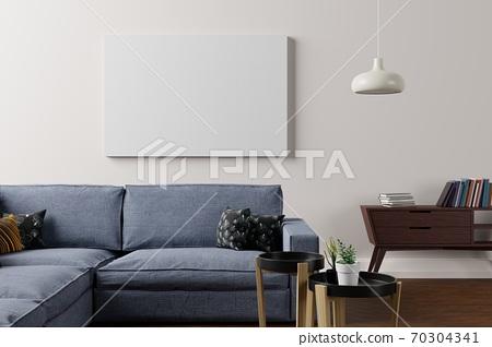 現代室內模型 70304341