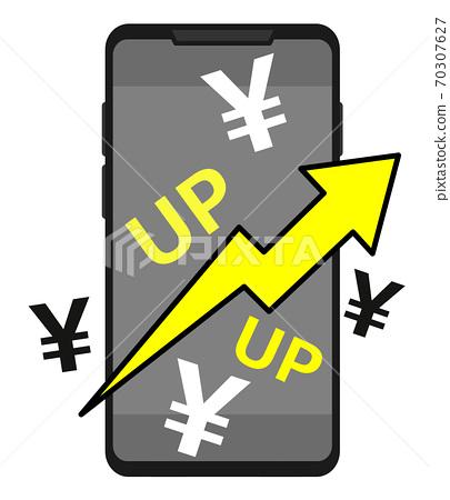 增加智能手機費用的插圖 70307627
