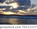 The sea of Tango Peninsula with beautiful surfers and sunsets 70313337