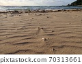 Shiranami Tatsu Wind crests on the Sea of Japan and sandy beaches 70313661