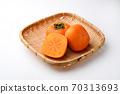 Autumn taste persimmon 70313693