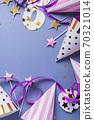 Birthday party invitation card 70321014