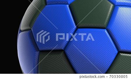 축구 공의 3D 일러스트 70330805