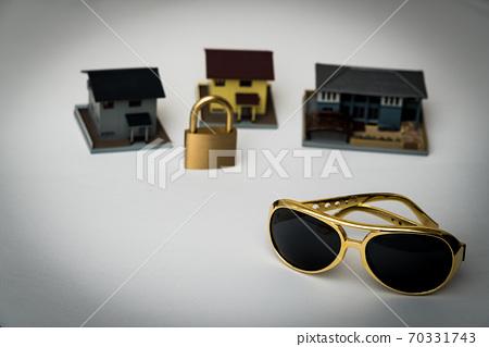 圖像素材犯罪搶劫搶劫犯罪預防 70331743