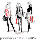 ◆ Fashion Croquis Series: Fall / Winter Coordination No.3_Red ◆ 70356857