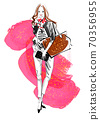◆ Fashion Croquis Series: Fall / Winter Coordination No.4_Red ◆ 70356955