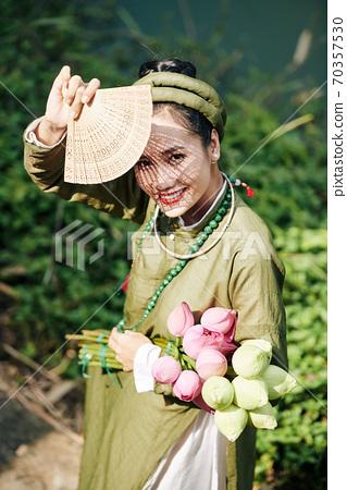 Beautiful Vietnamese woman 70357530