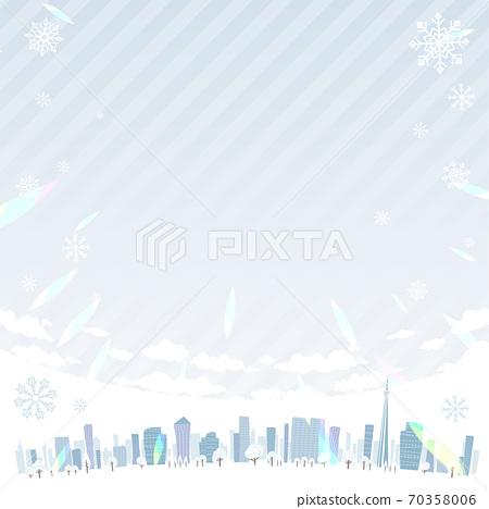 Townscape winter_en_sky square 70358006