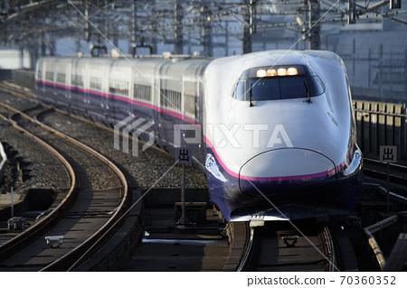 E2系列東北新幹線山比谷201到達大宮站 70360352
