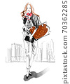 ◆時尚曲棍球系列:秋冬協調4號_單色◆ 70362285