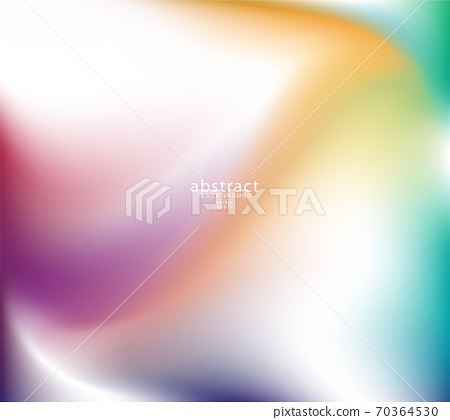 Abstract blurred gradient mesh background bright rainbow colors. 70364530